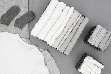 Jak składać ubrania, aby się nie pogniotły?