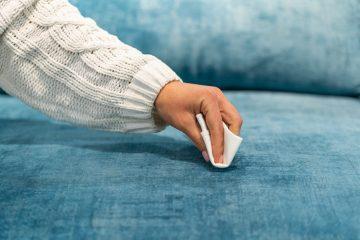 Czym wyczyścić kanapę tapicerowaną?