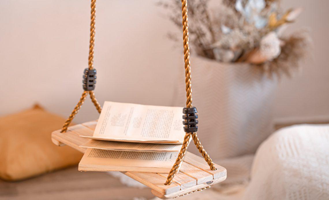 DIY: Półka na sznurku - jak ją zrobić?