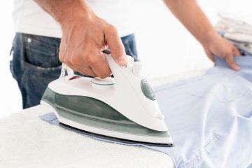 Jak prasować koszulę? Krok po kroku