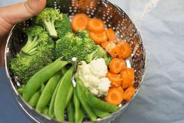 Jak ugotować warzywa na parze?