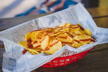 Jak zrobić domowe chipsy?